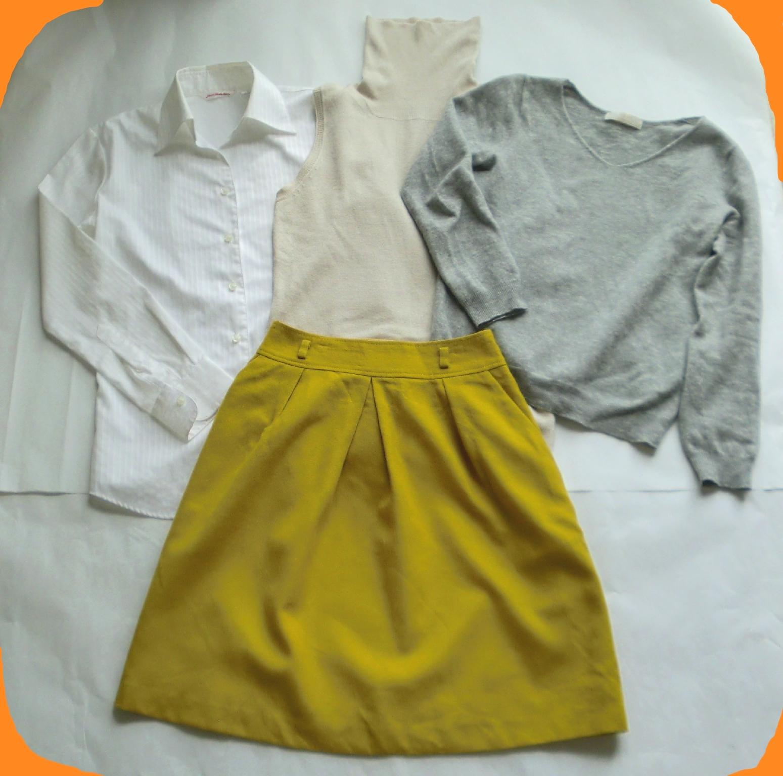 スプリングサマーさんに似合う、秋服冬服ファッションコーディネート